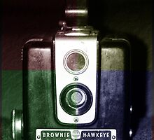 Colorful Brownie Hawkeye by Cynthia48