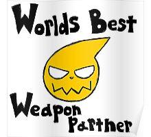 Soul Eater Best Weapon Partner Poster