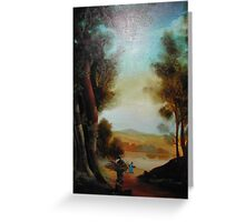 The woodcutter Greeting Card