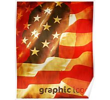 Stars and Stripes Poster