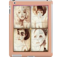 Silver Screen Actresses IPAD Case iPad Case/Skin