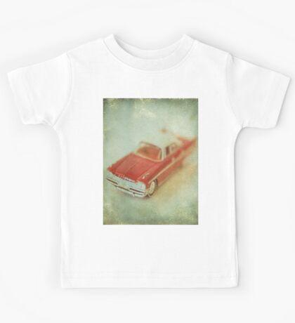 Vintage Cherry Red Chrysler De Soto Kids Tee