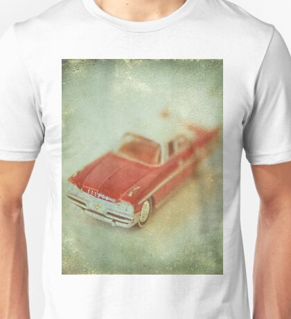 Vintage Cherry Red Chrysler De Soto Unisex T-Shirt