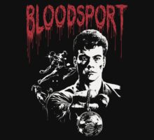 Bloodsport  Jean Claude Van Damme by BungleThreads