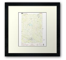 USGS TOPO Map New Hampshire NH Farmington 329560 2000 24000 Framed Print