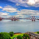 Rail Bridge over the Forth by Tom Gomez