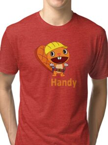 Happy Tree Friends - T-Shirt - Handy Tri-blend T-Shirt