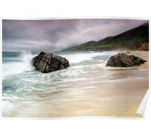 Garrapata Beach, CA Poster