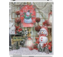 A Christmas Prayer For Frosty iPad Case/Skin