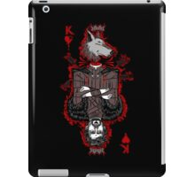 King of the North (reverse) iPad Case/Skin