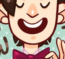 Bow Ties <3 STICKER Sticker