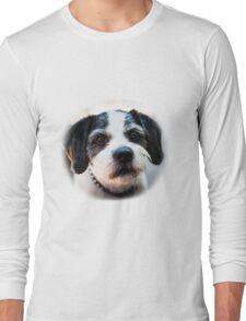 Black and White Dog Long Sleeve T-Shirt
