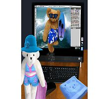 (✿◠‿◠) BEARS SURFING THE INTERNET IPHONE CASE (✿◠‿◠) by ╰⊰✿ℒᵒᶹᵉ Bonita✿⊱╮ Lalonde✿⊱╮