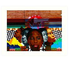 Harlem Street Art Art Print
