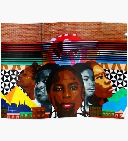 Harlem Street Art Poster