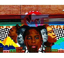 Harlem Street Art Photographic Print