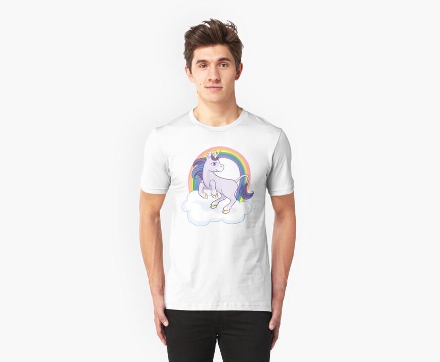 Rainbow Unicorn by Veronica Guzzardi