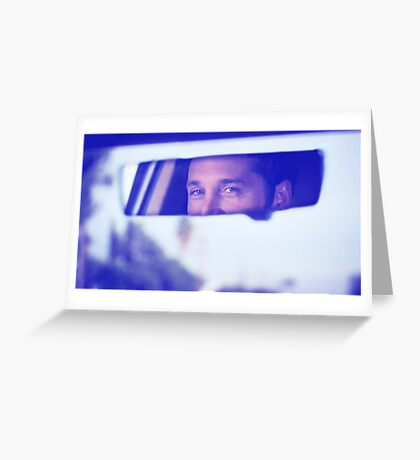 Derek Shepherd's eyes Greeting Card