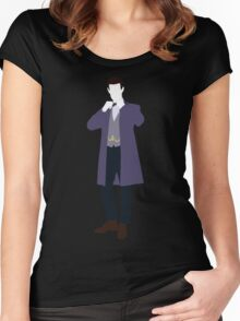 The Eleventh Doctor - Doctor Who - Matt Smith Women's Fitted Scoop T-Shirt
