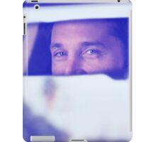 Derek Shepherd's eyes iPad Case/Skin