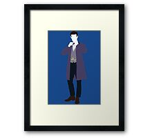The Eleventh Doctor - Doctor Who - Matt Smith Framed Print
