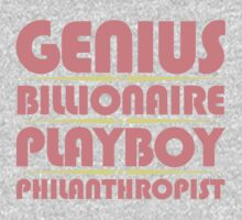 Genius Billionaire Playboy Philanthropist by David Ayala