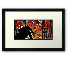 KyloRen Framed Print