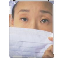Cristina Yang's eyes iPad Case/Skin