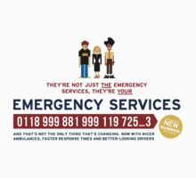 IT Crowd - Emergency Services by LivelyLexie