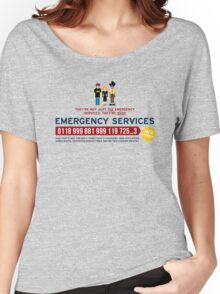 IT Crowd - Emergency Services Women's Relaxed Fit T-Shirt