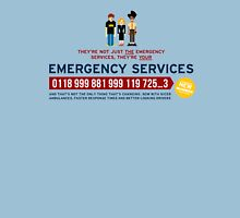 IT Crowd - Emergency Services Unisex T-Shirt