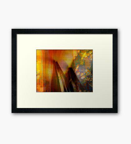 Inside the Rock #2 Framed Print