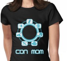 CON MOM Womens Fitted T-Shirt