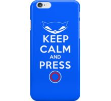 Master Of The Blue Sparkles iPhone Case/Skin