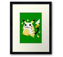 Retro Pikachu Framed Print
