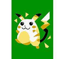 Retro Pikachu Photographic Print