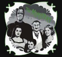 The Munsters by GlitterZombie