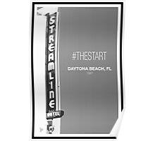 #TheStart (Black+White Edition) Poster