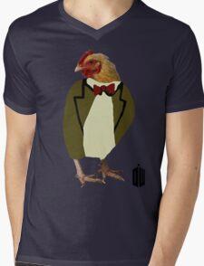 Chicken Eleventh Mens V-Neck T-Shirt