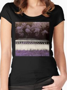 Sweet Summery Scent  Women's Fitted Scoop T-Shirt