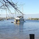 Boats at Inlet at theSpit by MardiGCalero