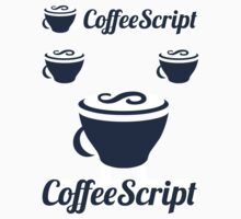 CoffeeScript ×4 by krop ★ $1.49 stickers