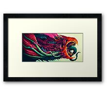 Hyper Beast Design Framed Print