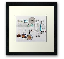 Kitchen Utensils Framed Print