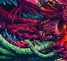 Hyper Beast Design Sticker