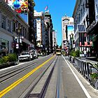 Street Car View by SkinnyBriotches