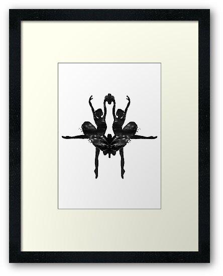 Rorschach Ballerina by Revital  N