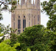 Top Of Duke Chapel Sticker