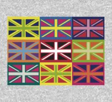 Flag United Kingdom Andy Warhol Pop Art by sher00