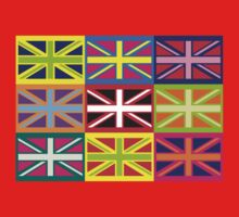 Flag United Kingdom Andy Warhol Pop Art Kids Clothes